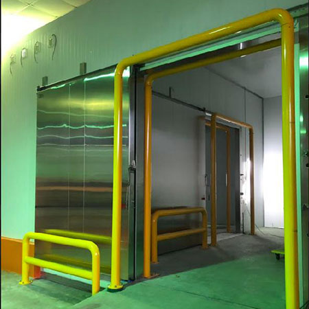 Manual Side Sliding Door - Fu003-3